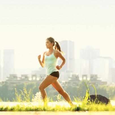Chạy bộ đúng cách để giảm mỡ.