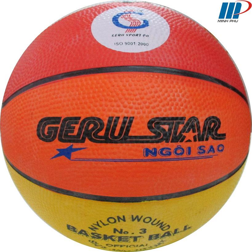 quả bóng rổ 8 màu số 3