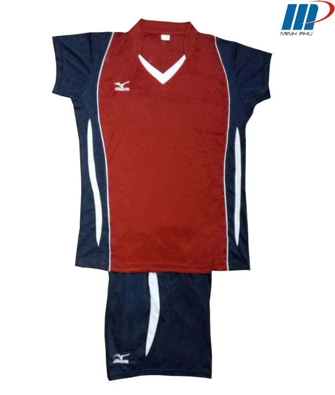 Quần áo bóng chuyền Mizuno mận