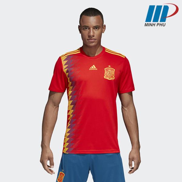 áo bóng đá đội tuyển Tây Ban Nha 2017-2018
