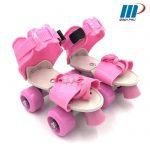 Dép patin trẻ em Skates hồng