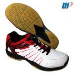 Giày cầu lông K-063 trắng đỏ