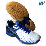 Giày cầu lông K-331 trắng xanh