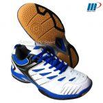 Giày cầu lông K-608 trắng xanh