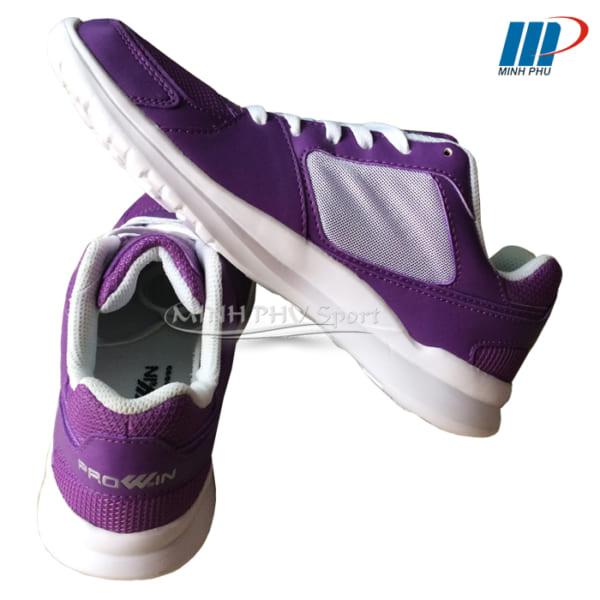 Giày chạy bộ Prowin X20 tím trắng
