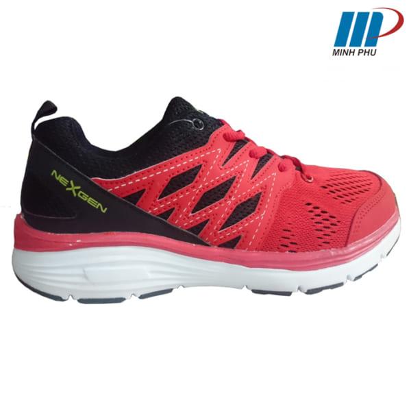 Giày chạy bộ NX-11872 đen đỏ