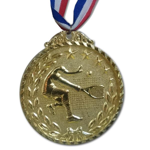 huy chương trao giải tennis