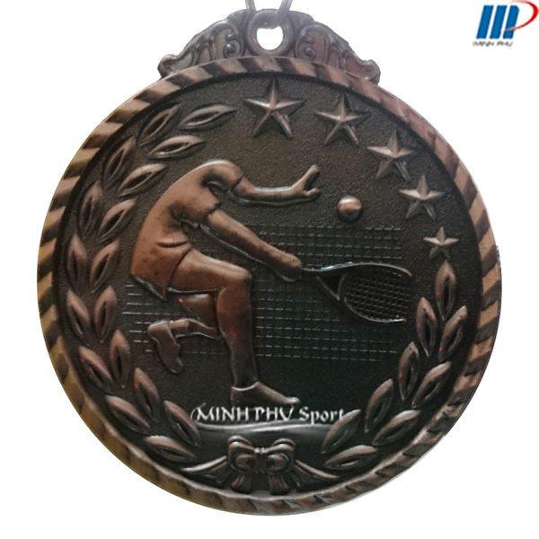 huy chương giải tennis