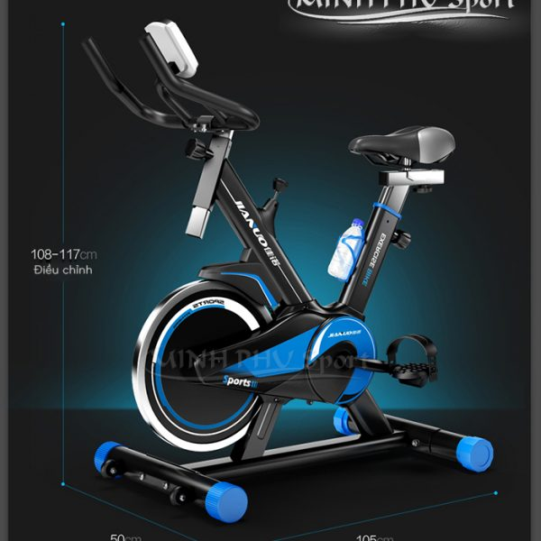 Kích thước xe đạp tập Spin Bike JN55