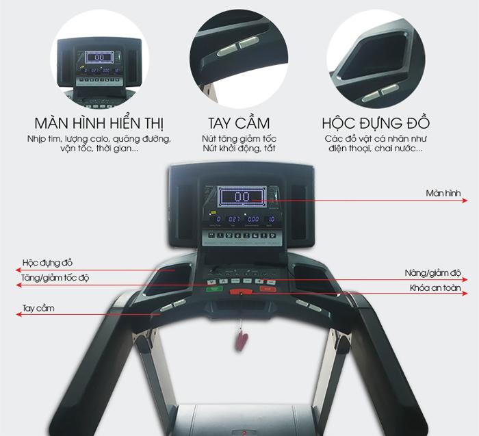 Máy chạy bộ điện DLT-6D chi tiết