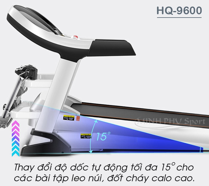 Máy chạy bộ điện HQ-9600 độ dốc