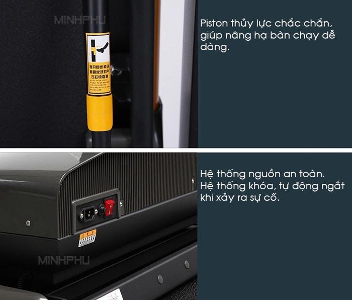 Máy chạy bộ điện MHT-1430M chi tiết