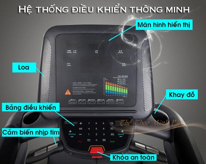 Máy chạy bộ điện MHT-5517A màn hinh