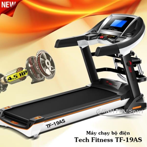 Máy chạy bộ điện Tech Fitness TF-19AS