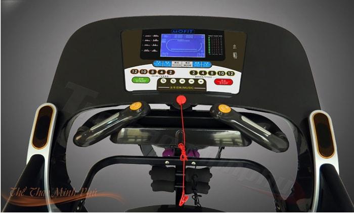 Máy chạy bộ điện MHT-1430M điều khiển