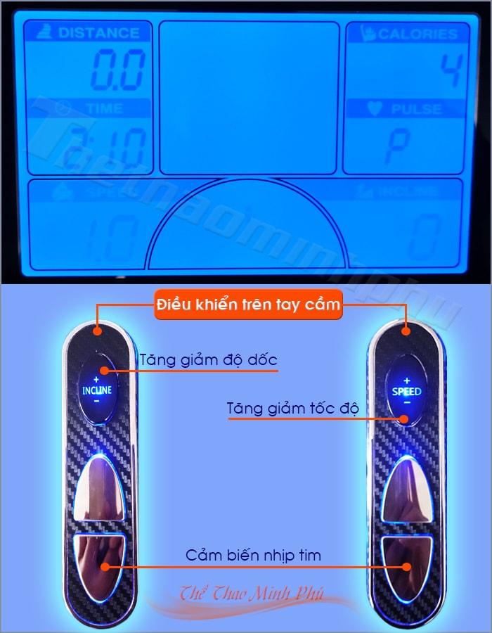 Máy chạy bộ điện MHT-1809AD màn hình