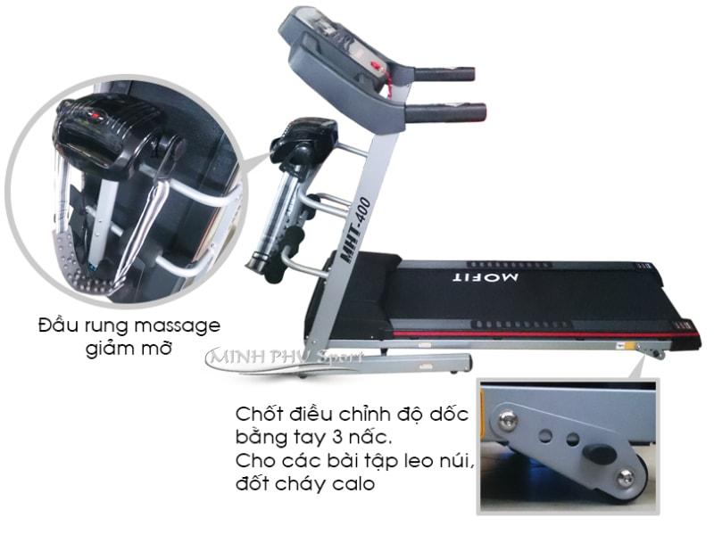 Máy chạy bộ điện MHT-400 massage