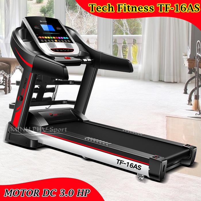 Máy chạy bộ điện Tech Fitness TF-16AS