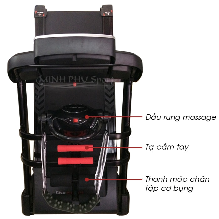 Máy chạy bộ điện Viking VK-450BDS massage
