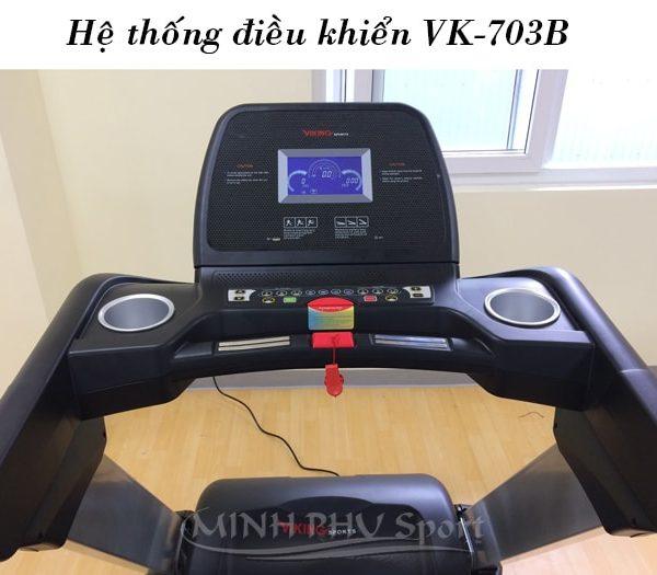 Máy chạy bộ điện Viking VK-703B điều khiển