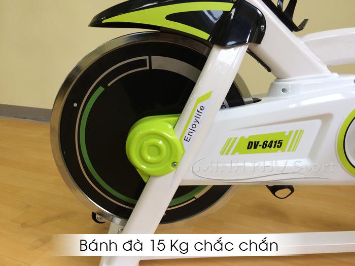 Bánh đà xe đạp tập thể dục DV-6415