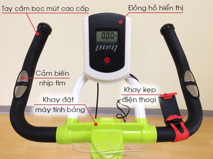 Đồng hồ xe đạp tập DV-6415