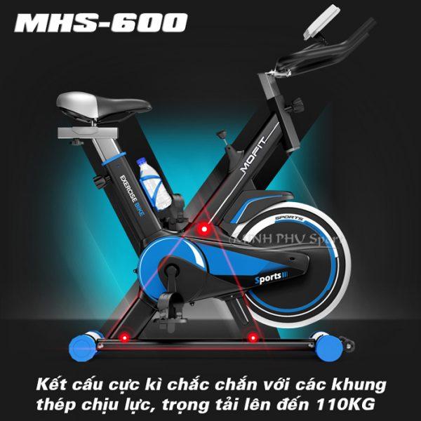 Xe đạp tập MHS-600
