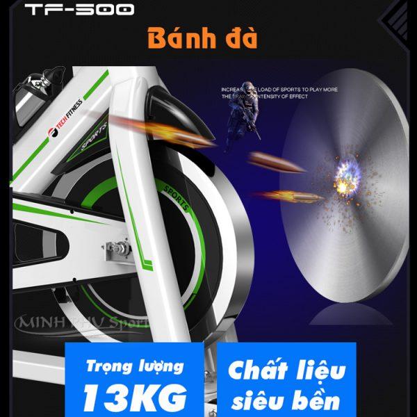 Bánh đà xe đạp tập TF-500