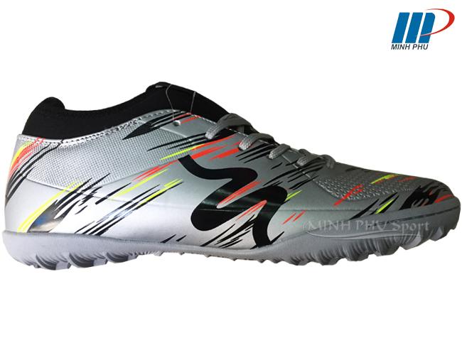 Giày bóng đá Mitre MT-160930 bạc đen