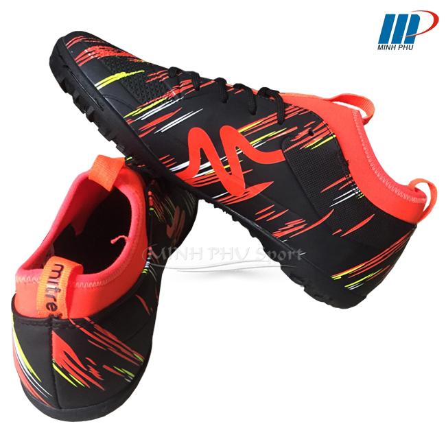 Hình ảnh giày bóng đá Mitre MT-160930 đen cam