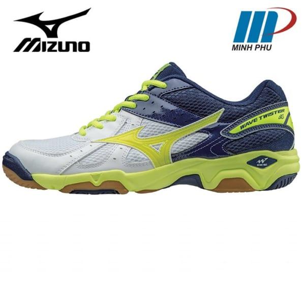Giày bóng chuyền Mizuno TWISTER 4 trắng vàng