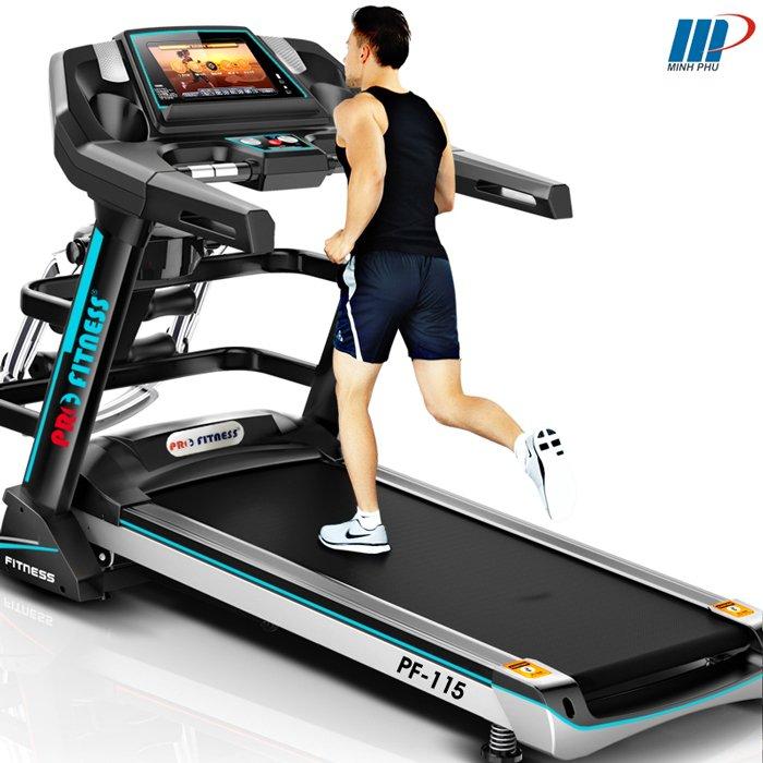 Máy chạy bộ Pro Fitness thương hiệu dành cho người việt