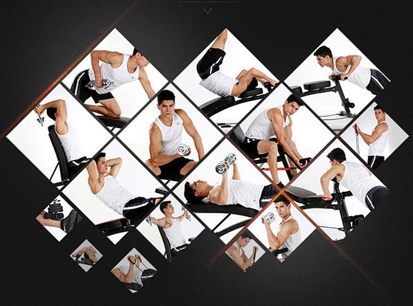 Chức năng tập luyện trên ghế tập tạ KK-021D