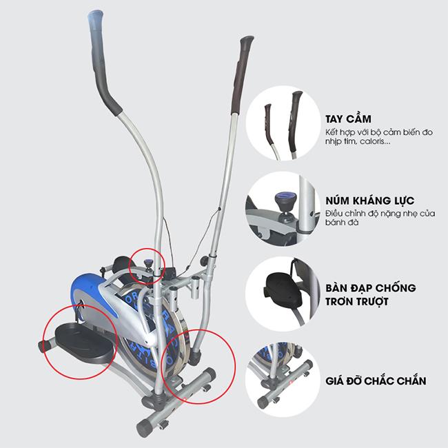 Xe đạp tập Orbitrack New K208B-chi tiết