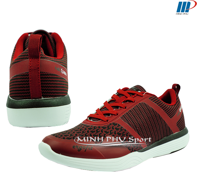 giày thể thao nexgen ergofit 01 đỏ mận
