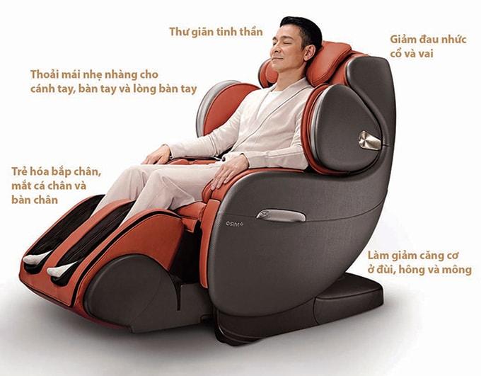tác dung của máy massage