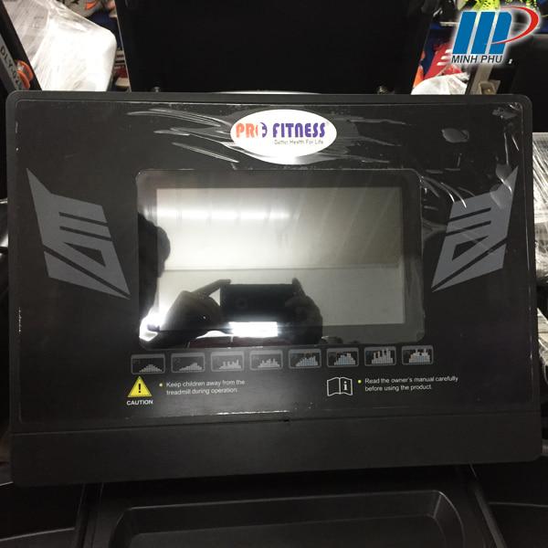 Máy chạy bộ điện Pro fitness PF-117D màn hình