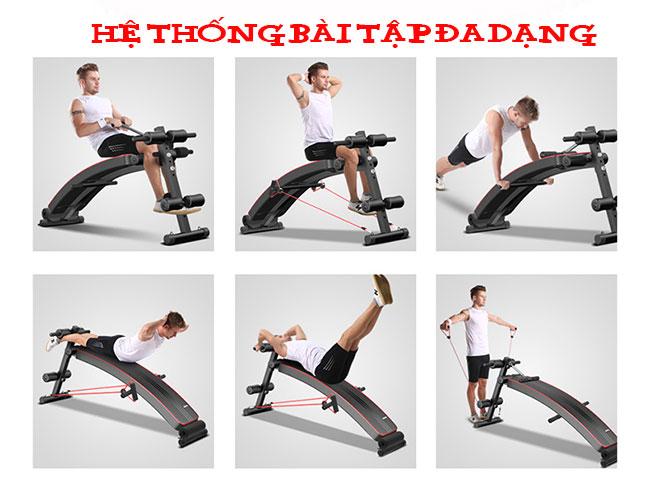 Bài tập với ghế tập bụng ADKing AD-177