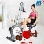 xe đạp tập thể dục tốt cho tim mạch