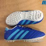 Giày bóng đá 3 sọc xanh bích