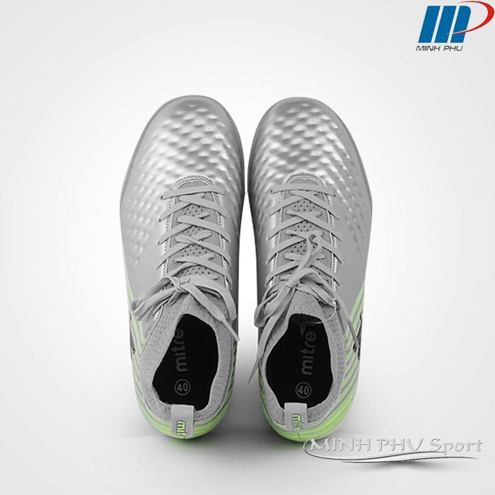 giày bóng đá Mitre MT-170434 bạc