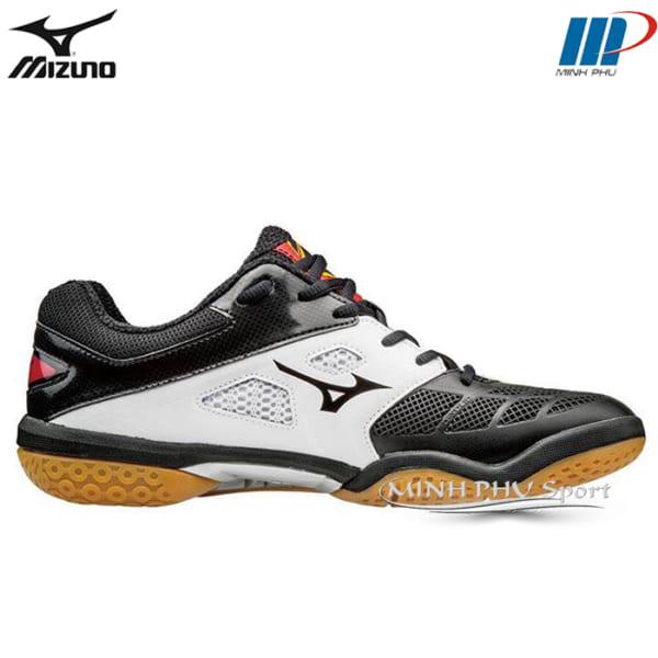 Giày cầu lông Wave Fang RX2 trắng đen