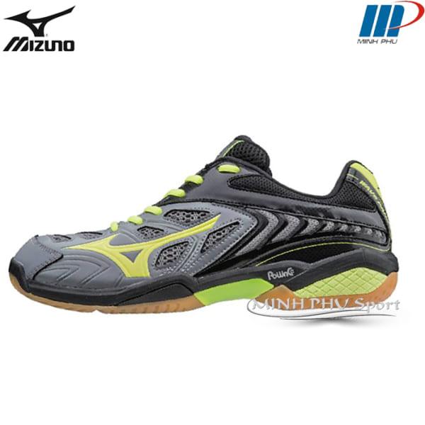 Giày cầu lông Mizuno Wave Fang SS2 Xám vàng
