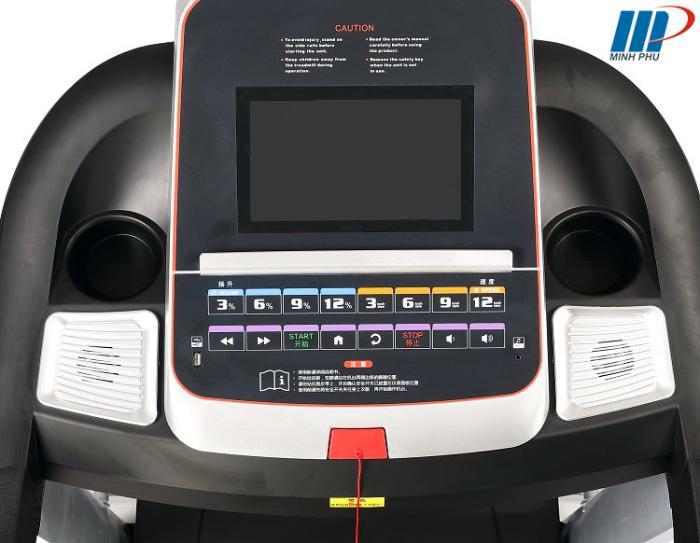 Máy chạy bộ điện Viking VK-A8 màn hình