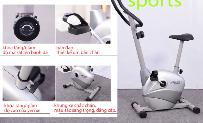 Xe đạp tập thể dục Air Bike AB-03 chi tiết