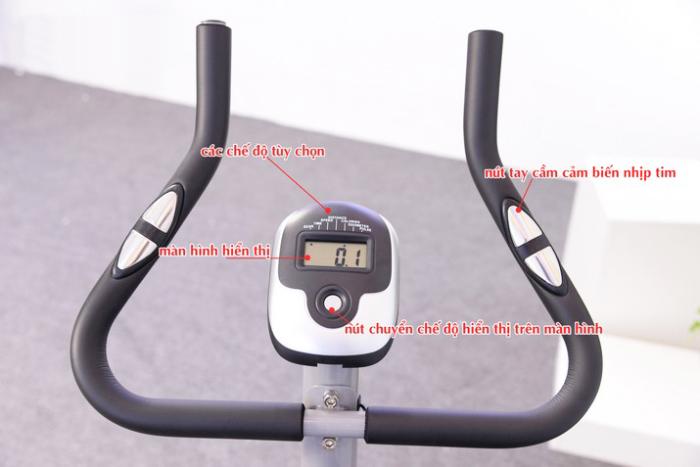 Xe đạp tập thể dục Air Bike AB-03 tay