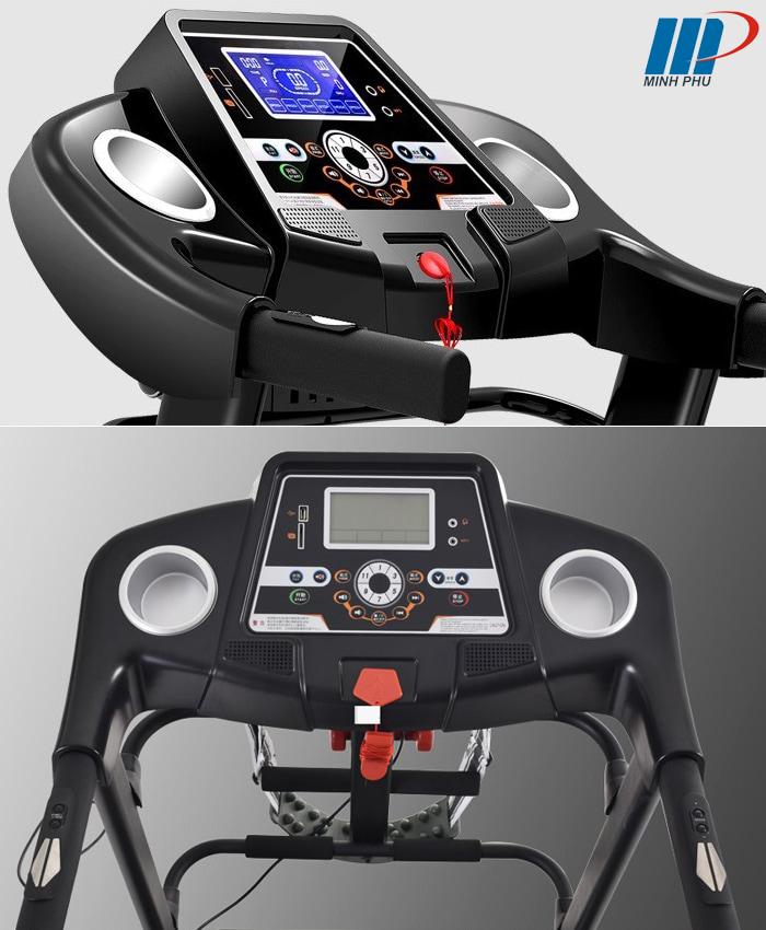 máy chạy bộ điện Pro Fitness PF-112D màn hình
