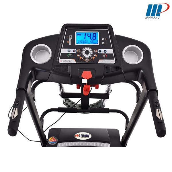 Máy chạy bộ điện Pro Fitness PF-112D bảng điều khiển