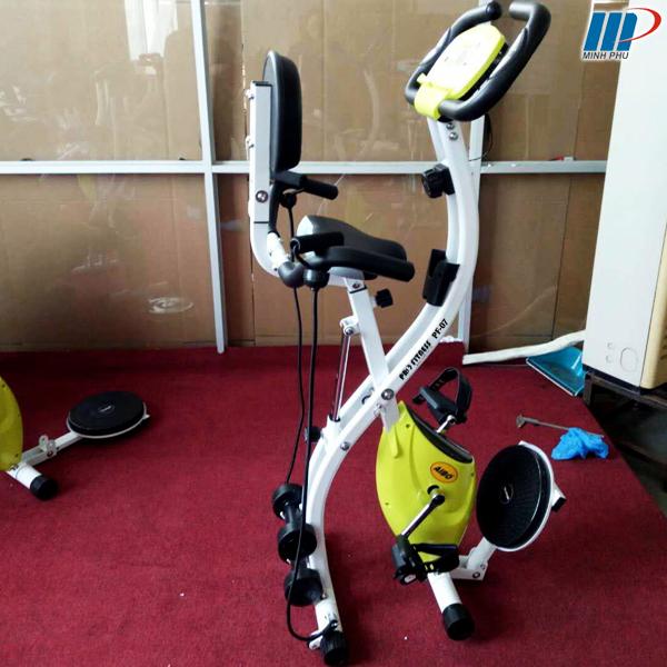 xe đạp tập thể dục Pro Fitness PF-07 gập gọn