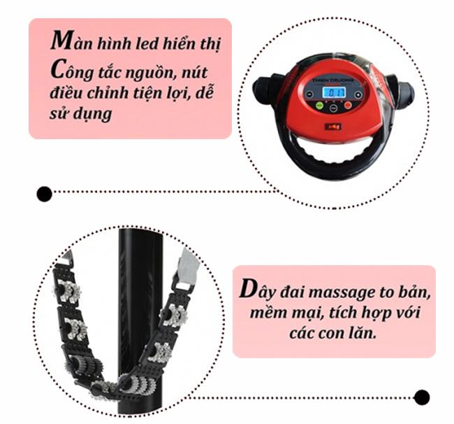 Máy rung massage chân kính MHQ 300S